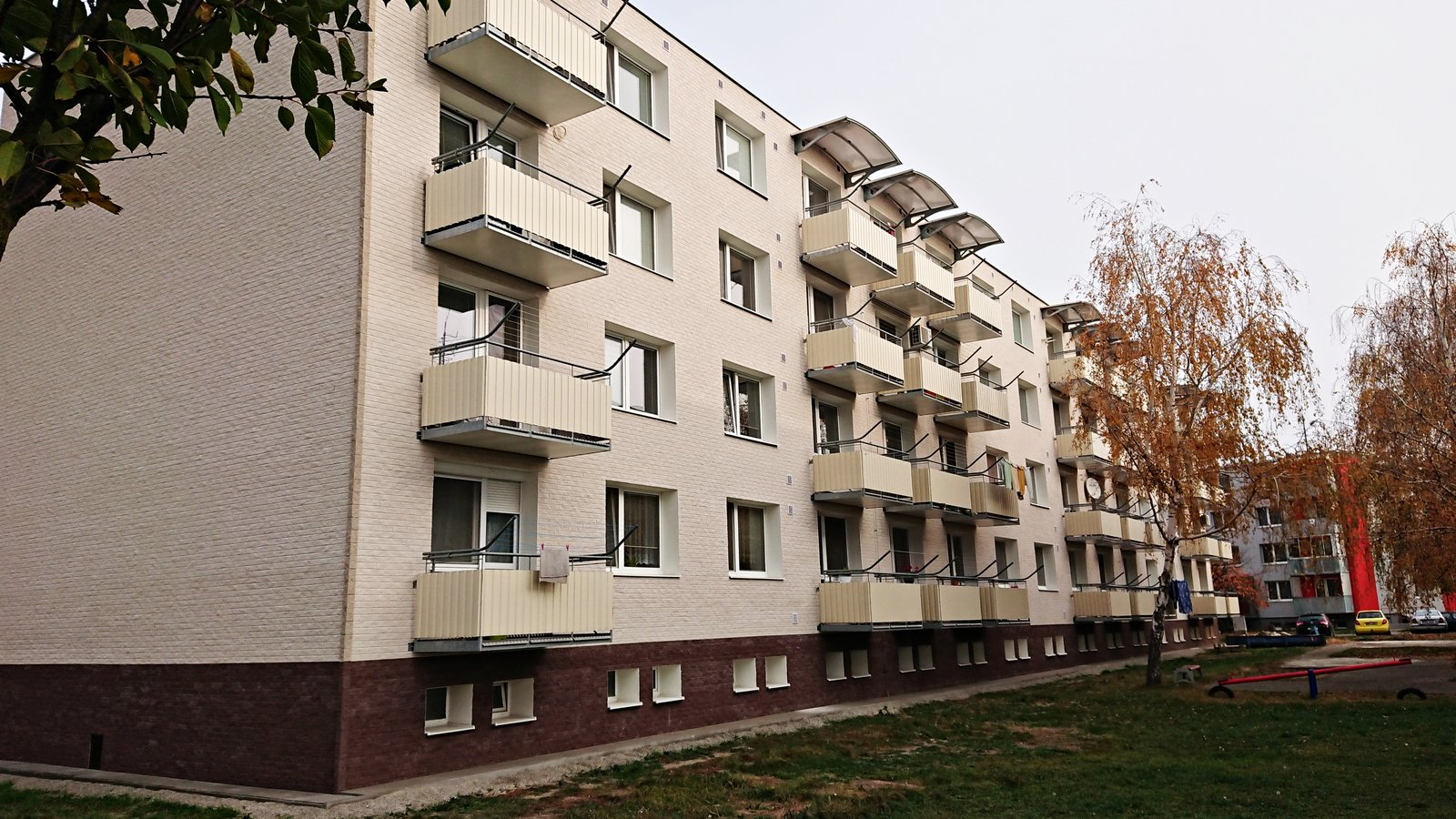 Lifebrick fasáda - Břeclav